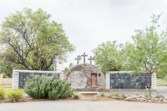 Wall of Remembrance at the Dutch Reformed Church Cradock North Royalty Free Stock Image