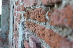 The wall Stock Image