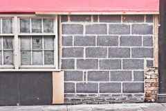 Wall repair Royalty Free Stock Images
