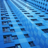 Wall of residential construction Royalty Free Stock Photo