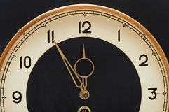 Wall retro clock Royalty Free Stock Photos