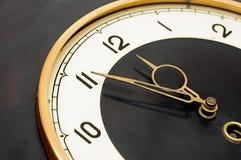 Wall retro clock Royalty Free Stock Photo