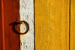 Wall with ring royalty free stock images