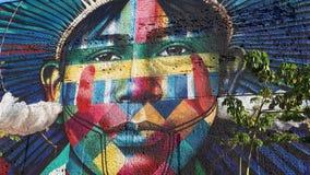 Wall. Rio de Janeiro - Brazil - kobra Royalty Free Stock Photography