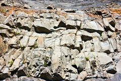 Wall of rock Stock Image