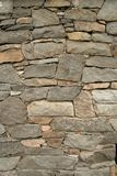 Wall of Rock. A stone wall stock image