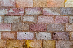 Wall of rock blocks Royalty Free Stock Photos