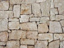 Wall rock. Brick modern rock wall and background Stock Image