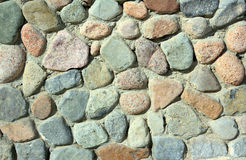 Wall of rock stones Royalty Free Stock Image