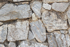 Wall of rock. Royalty Free Stock Photography