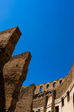 Wall of Rome Colosseum Royalty Free Stock Image