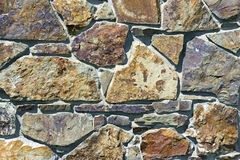 Wall of rough stones Stock Images