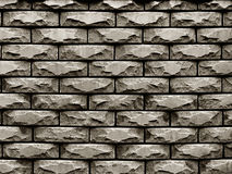 Wall of rough stones in the background Royalty Free Stock Photos