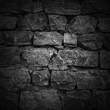 Wall of rough stones. light effect Stock Images