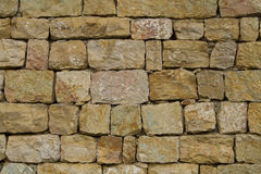 Wall from rough stones Stock Image