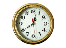 Wall round clock Stock Photos