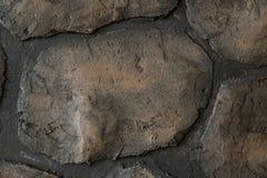 Wall round stone rock texture stock photos