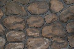 Wall round stone rock texture stock photo