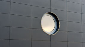 Wall with round window Royalty Free Stock Images