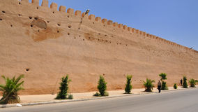 The wall of Royal Palace in Meknes, Morocco Stock Photo
