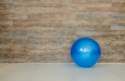 Wall and Rubber ball Stock Image