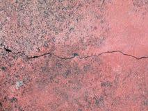 Wall rupture. Background brick broken Royalty Free Stock Image