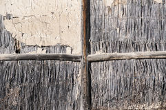 Wall of rural barn Royalty Free Stock Photo