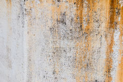 Wall with rust texture Royalty Free Stock Images