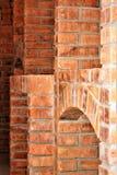Wall of rustic brick, brick appliedbrick cellars, brick, brick used in construction. Wall rustic brick appliedbrick cellars used construction house rustichouse royalty free stock photos