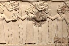 Wall of Sacred Basin Stock Image