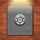 Wall safe Stock Photo