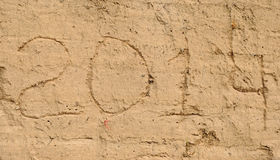 Wall sand Stock Images