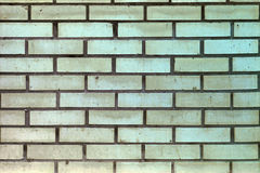 Wall with Sand-Colored Bricks. stock photography