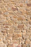 Wall of sandstone Royalty Free Stock Photos