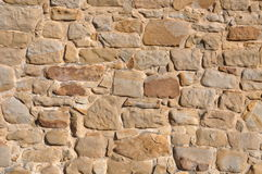 Wall of sandstone Royalty Free Stock Photo