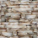 Wall of the sandstone - decorative pattern - seamless background Stock Photos