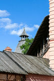 The wall of the Saviour Monastery of St. Euthymius, Russia, Suzdal royalty free stock photos