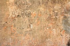 Wall with scratches Stock Image