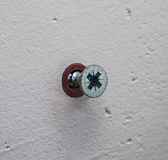 Wall screw Stock Photos