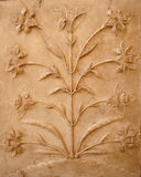 Wall sculpture Royalty Free Stock Images