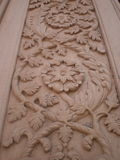Wall sculpture designs. At chhatris in Gwalior Stock Photography