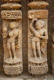 Wall Sculpture of Sun Temple Stock Photos