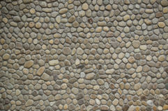 Wall with sea stones Royalty Free Stock Photography