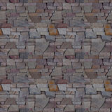 Wall seamless texture of the bricks Royalty Free Stock Photography