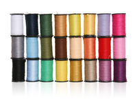 Wall of Sewing Thread Royalty Free Stock Images