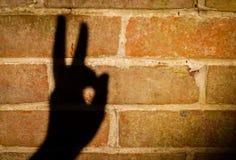 Wall shadow Stock Image