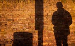Wall shadow Royalty Free Stock Image