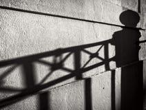Wall and Shadows Royalty Free Stock Photo