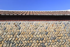 Wall of shanchong ancient dwellings Royalty Free Stock Images