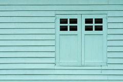 Wall of an shed. A wall of a shed with doors Royalty Free Stock Images